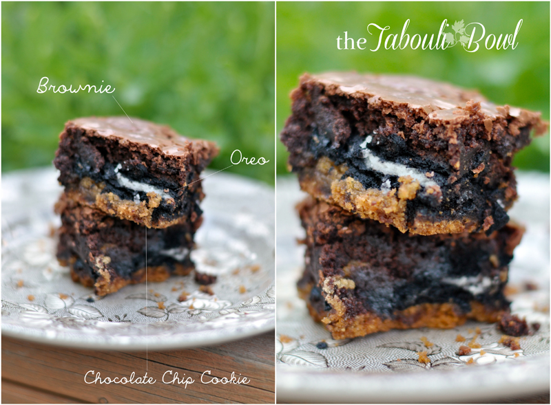 Triple Threat Brownies Easy Amp Fast Recipe The Tabouli Bowl